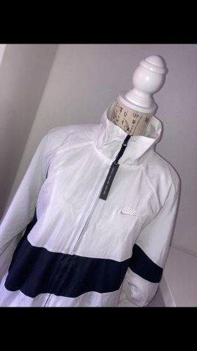Nike Regenjas wit-zwart