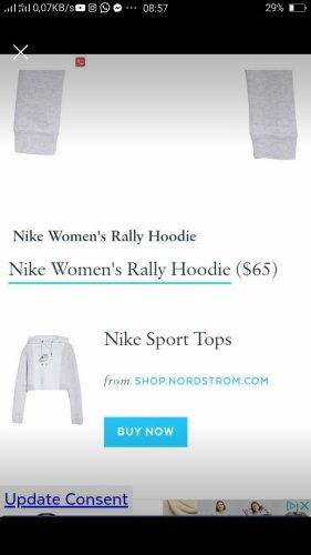 Nike Rally crop Hoodie Gr M
