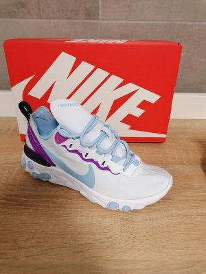 Nike React Element blau lila neu 37/37.5