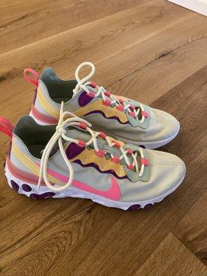 Nike react sneaker Pastell mint pink