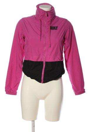Nike Übergangsjacke pink-schwarz Casual-Look