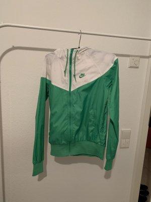 Nike Raincoat white-green