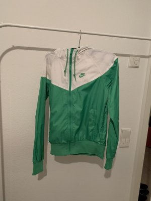 Nike Chubasquero blanco-verde