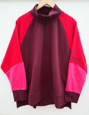 Nike Retro Pullover, Bordeaux/Pink, Gr. 2XL, Oversize
