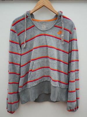 Nike Retro Samthoodie, Grau, Gr. L