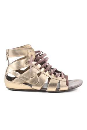 Nike Roman Sandals brown casual look