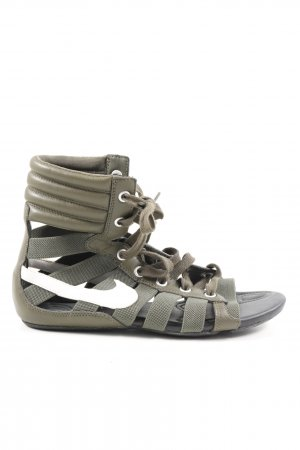 Nike Roman Sandals khaki casual look