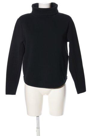 Nike Rollkragenpullover schwarz Casual-Look