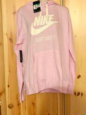 Nike Top à capuche rose clair