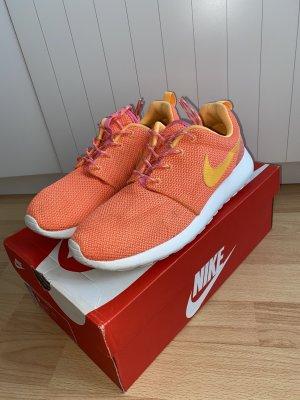 Nike Lace-Up Sneaker multicolored textile fiber