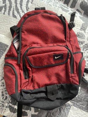 Nike Sac à dos de randonnée rouge foncé-noir