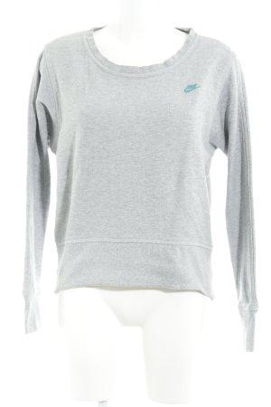 Nike Rundhalspullover hellgrau Casual-Look