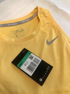 Nike Running: gelbes Top in XL