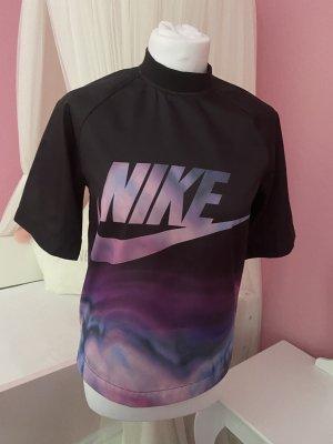 Nike Sports Shirt black-lilac