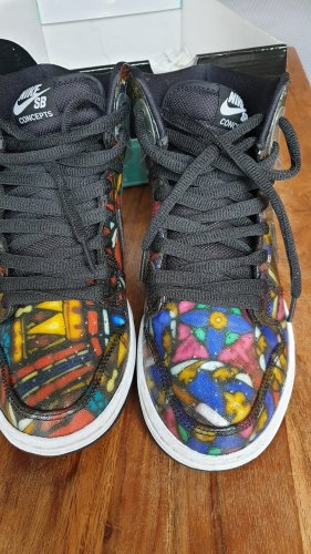 Nike SB Dunk High premium Stained Glass 313171606