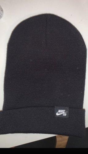 Nike Sombrero de tela negro-blanco
