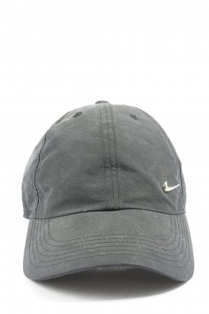 Nike Visor Cap light grey casual look