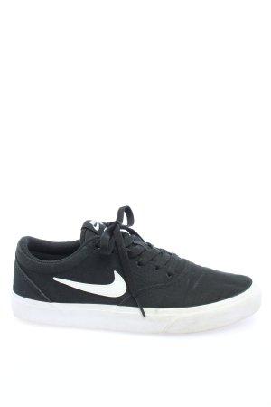 Nike Schnürschuhe schwarz-weiß Casual-Look