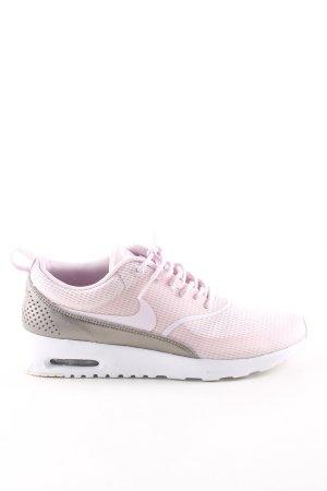 Nike Scarpa stringata rosa-oro stampa integrale stile casual