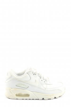 Nike Schnürschuhe weiß Casual-Look
