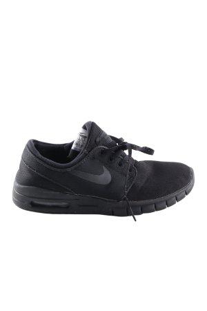 Nike Schnürschuhe schwarz Casual-Look