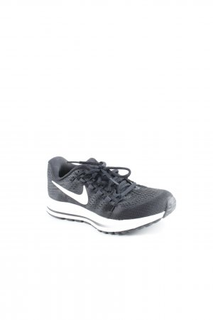 Nike Schnürschuhe schwarz-weiß schlichter Stil