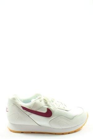 Nike Schnürsneaker weiß sportlicher Stil
