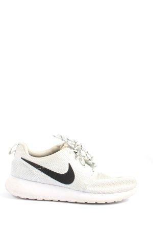 Nike Schnürsneaker weiß Motivdruck Casual-Look