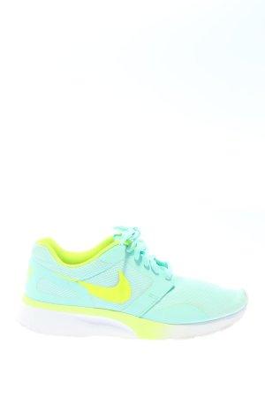 Nike Schnürsneaker türkis-blassgelb Casual-Look