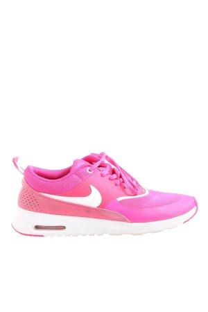Nike Schnürsneaker pink-weiß Casual-Look