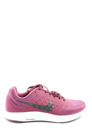 Nike Schnürsneaker pink-schwarz Casual-Look