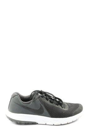 Nike Schnürsneaker hellgrau-schwarz Casual-Look