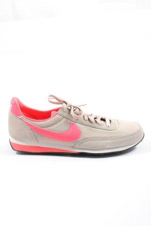 Nike Schnürsneaker hellgrau-pink Casual-Look