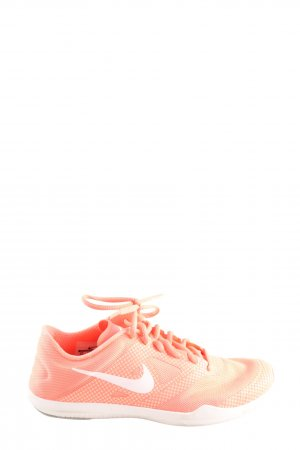 Nike Schnürsneaker pink Punktemuster Casual-Look