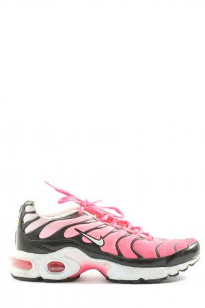 Nike Lace-Up Sneaker pink-black casual look