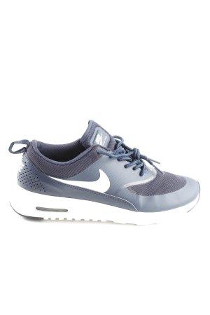 Nike Sneakers met veters blauw-wit casual uitstraling
