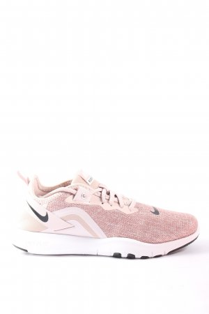 Nike Schnürsneaker pink-weiß meliert Casual-Look