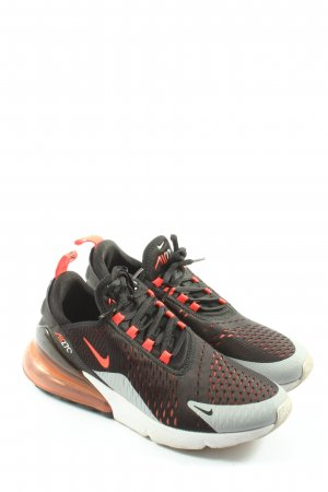 Nike Schnürsneaker schwarz-rot Motivdruck Casual-Look