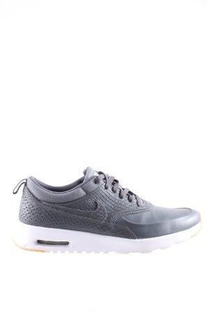 Nike Basket à lacet gris clair motif animal style décontracté