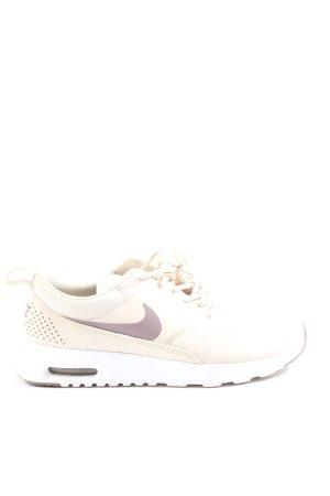 Nike Schnürsneaker creme-hellgrau Casual-Look