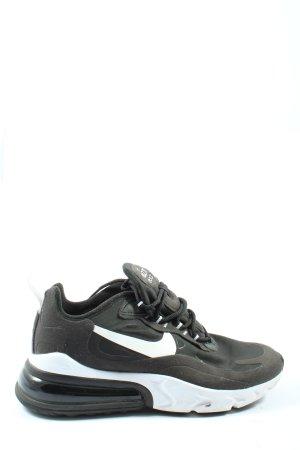Nike Schnürsneaker schwarz Motivdruck Casual-Look