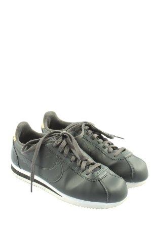 Nike Schnürsneaker schwarz schlichter Stil