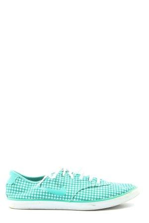 Nike Schnürsneaker weiß-hellgrau Karomuster Casual-Look