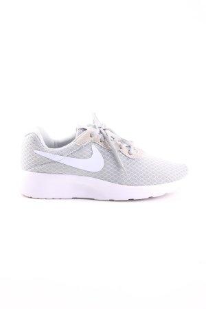 Nike Sneakers met veters wit-lichtgrijs casual uitstraling