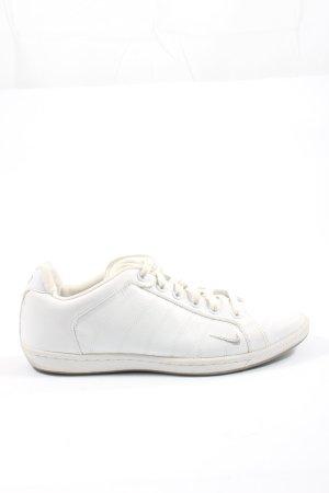 Nike Schnürsneaker weiß Streifenmuster Casual-Look
