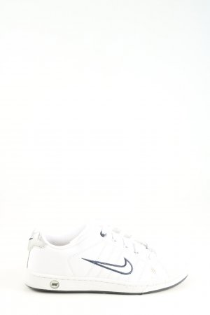 Nike Schnürsneaker weiß-blau sportlicher Stil