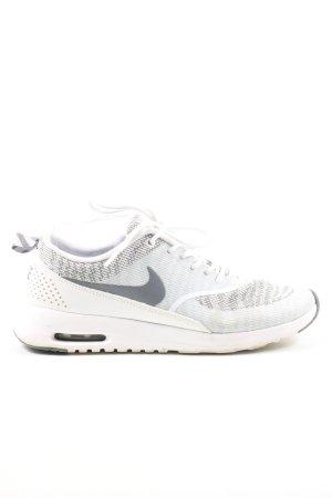 Nike Schnürsneaker weiß-hellgrau Casual-Look