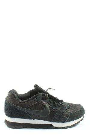 Nike Lace-Up Sneaker black elegant