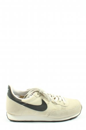 Nike Schnürsneaker wollweiß-schwarz Motivdruck Casual-Look
