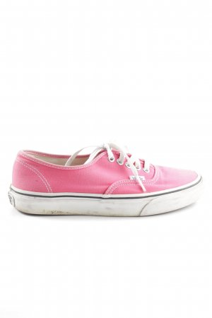 Nike Lace-Up Sneaker pink-white casual look